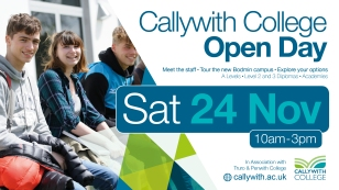 Callywith open day