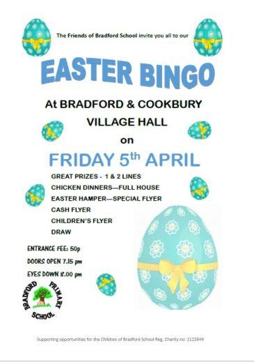Easter Bingo Feb 19